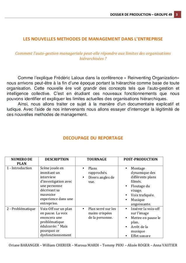 Sustainable Performance - Dossier de production - Groupe 49 Slide 3