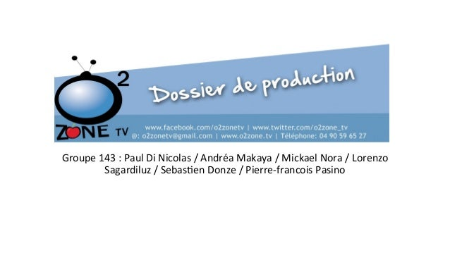 Groupe  143  :  Paul  Di  Nicolas  /  Andréa  Makaya  /  Mickael  Nora  /  Lorenzo   Sagardi...