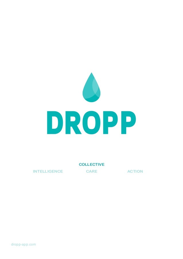 COLLECTIVE INTELLIGENCE  dropp-app.com  CARE  ACTION