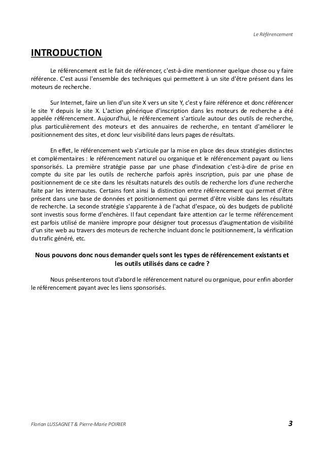 Dossier de référencement -  DU communication Slide 2
