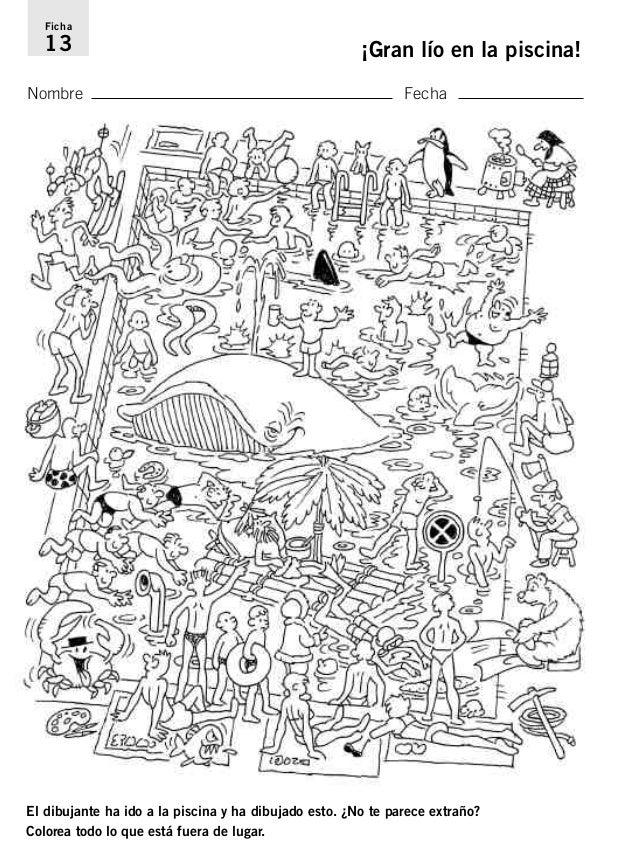 Dibujos Ocultos Para Colorear Con Numeros Resultado de imagen para ...