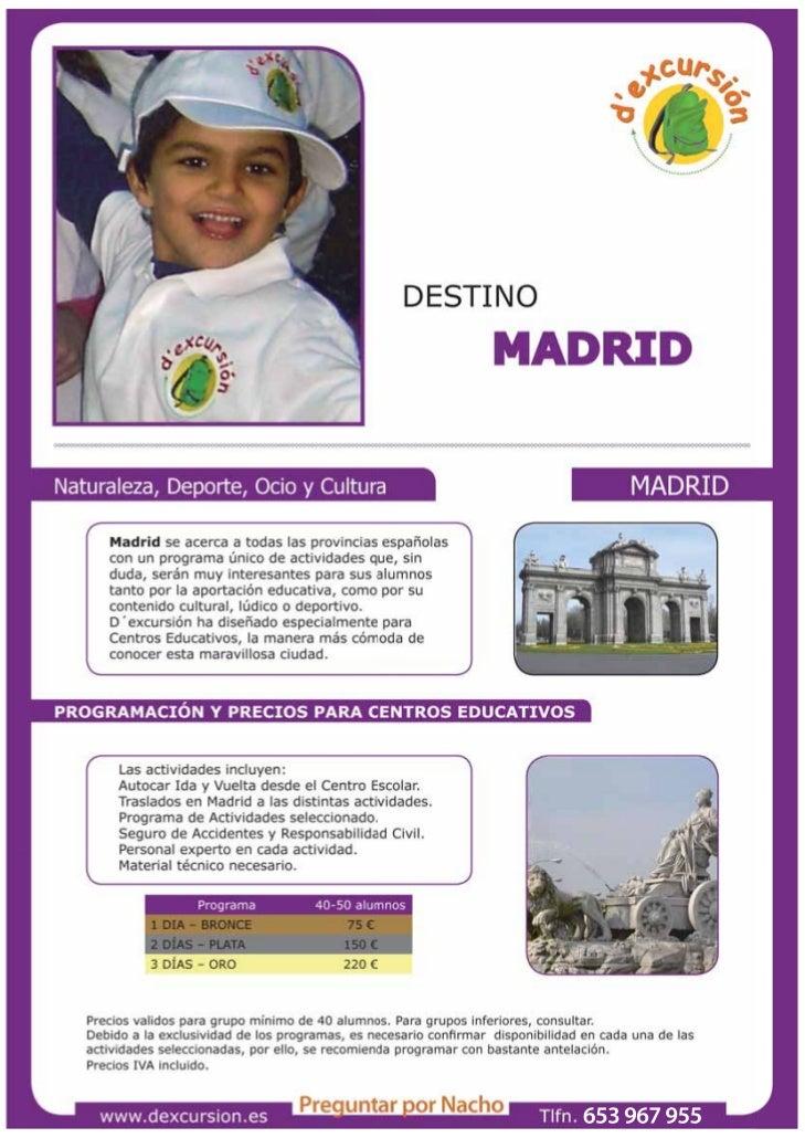 Dossier destino madrid + autocar2
