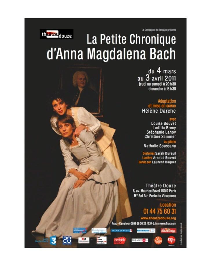 La Compagnie du Passage présente au                               Théâtre Douze   6, avenue Maurice Ravel 75012 Paris - Mé...
