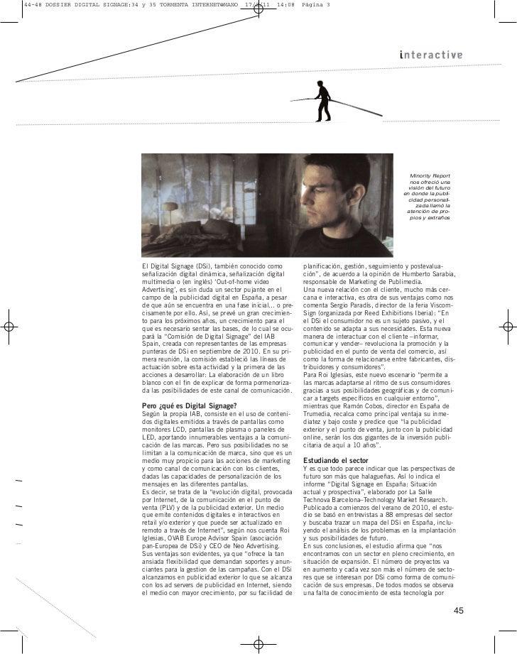 Dossier digital signage revista interactiva Slide 2