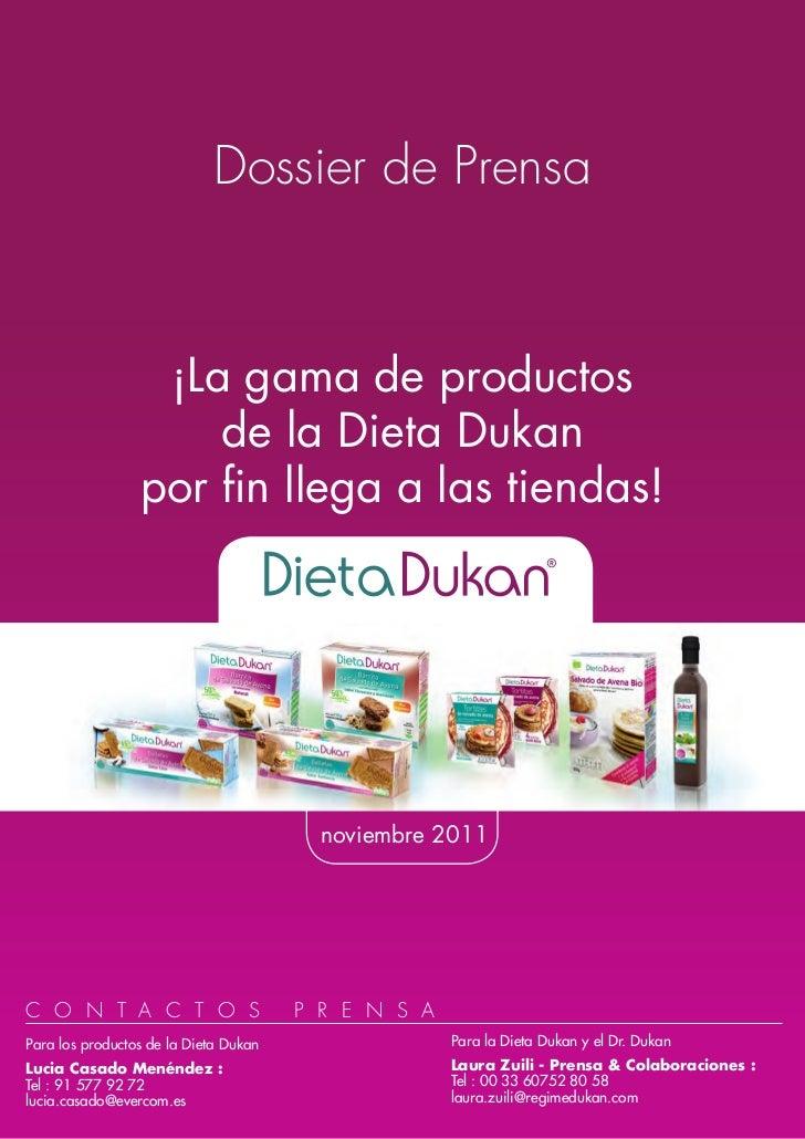 Dossier Dukanproductos2011