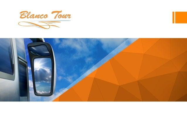 AUTOCARES  BLANCO  TOUR   Dossier  corpora+vo  Blanco Tour