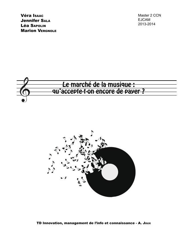 Le marché de la musique en France est en constante évolution ; au fil des années, nous avons vu se succéder de nombreux pr...
