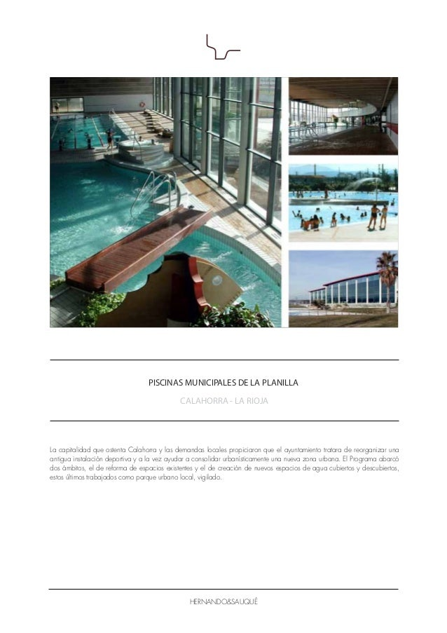 Dossier h s2014 es for Piscinas municipales palma
