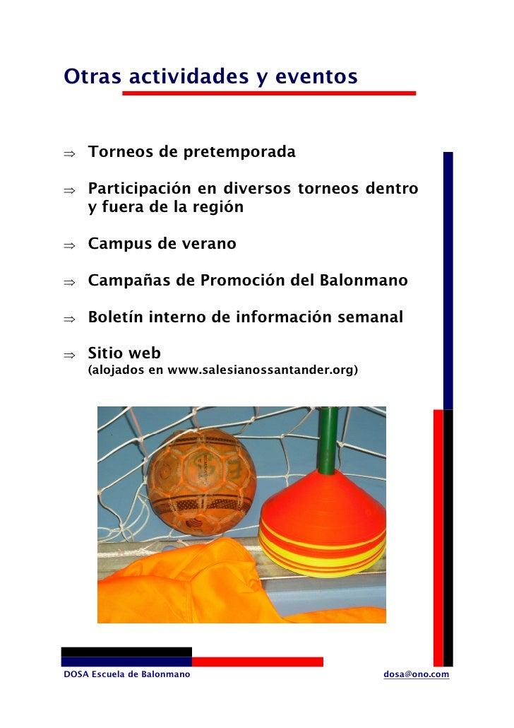 Otras actividades y eventos       Torneos de pretemporada ⇒       Participación en diversos torneos dentro ⇒     y fuera d...