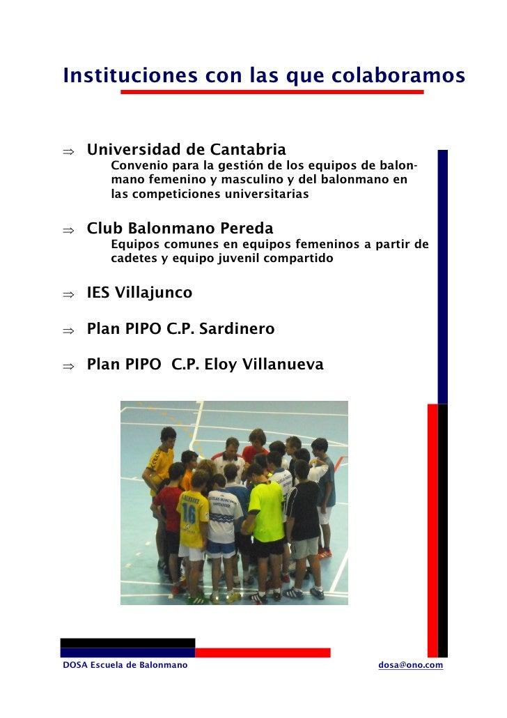 Instituciones con las que colaboramos       Universidad de Cantabria ⇒          Convenio para la gestión de los equipos de...