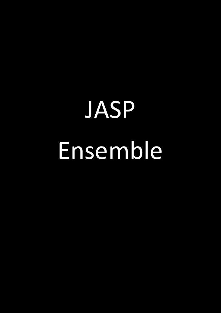 JASPEnsemble