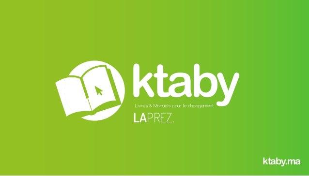 ktabyLivres & Manuels pour le changement ktaby.ma LAPREZ.