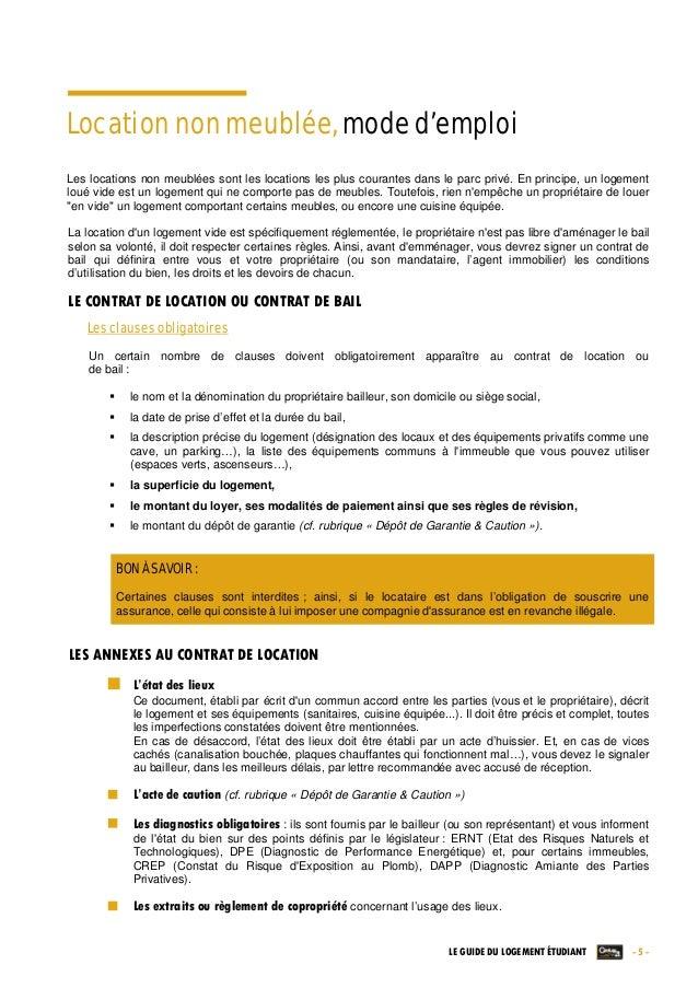 Le guide du logement etudiant par century 21 edition - Lettre de restitution de caution par le bailleur ...