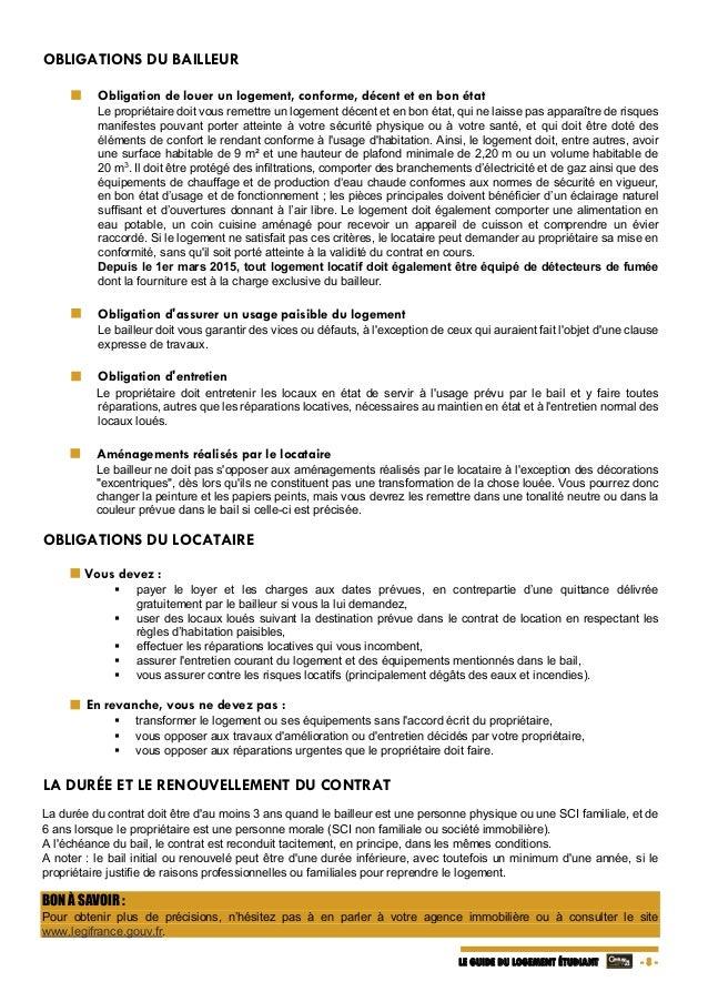 Dossier logement etudiant 2015 dv - Location meublee documents a fournir ...