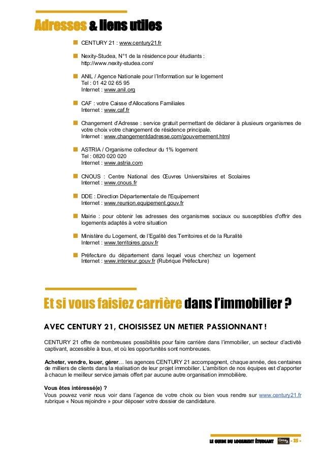 Guide Du Logement Etudiant 2016