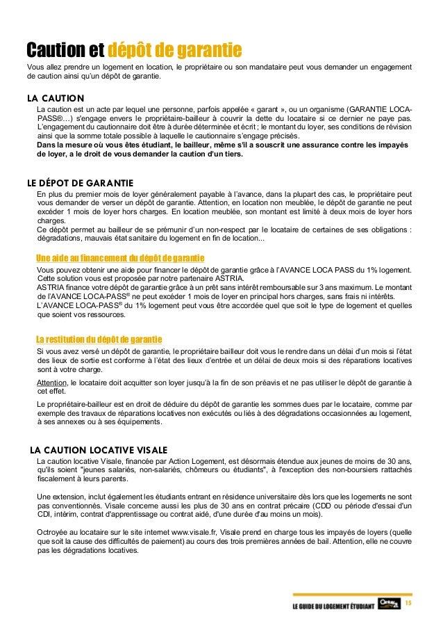 Le Guide Du Logement Étudiant 2017
