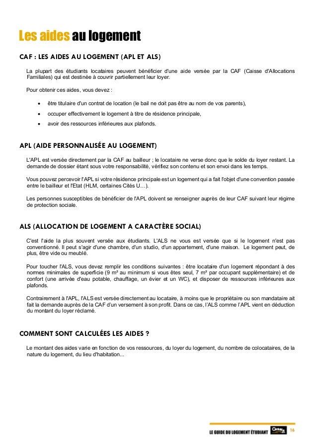 Caf Simulation Aide Au Logement  Ef Bf Bdtudiant