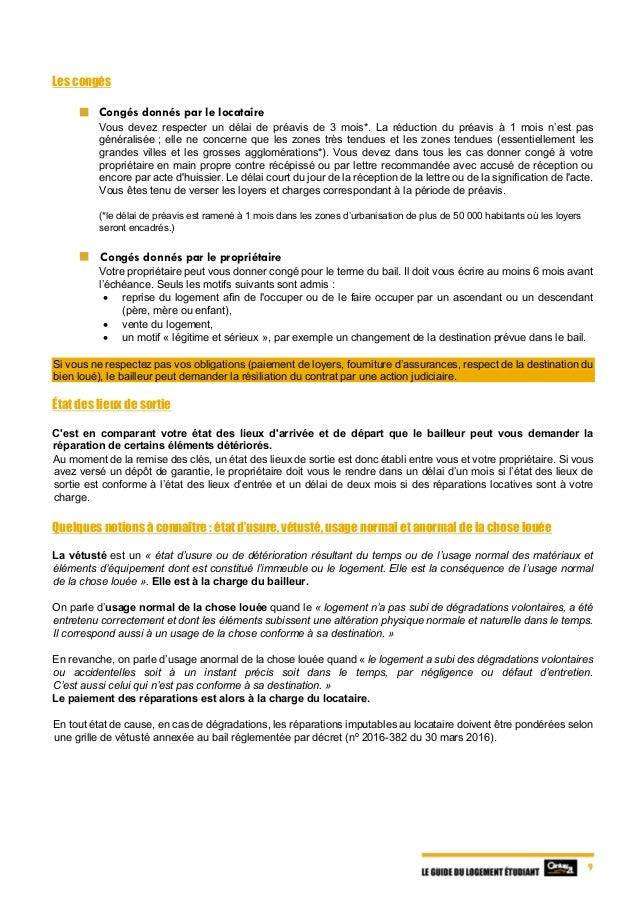 Le Guide Du Logement tudiant
