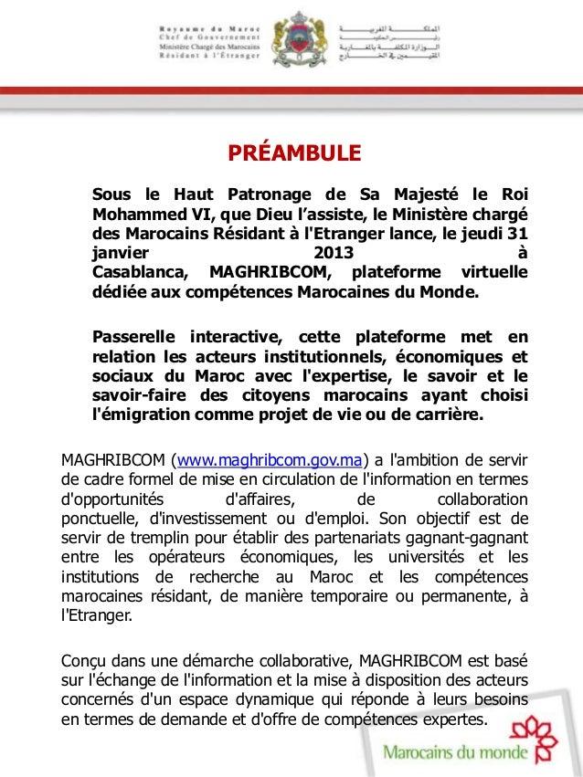 Dossier de presse Maghribcom  Slide 3