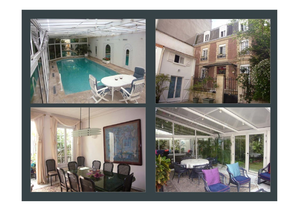 Immobilier paris maison 20171024183400 for Appartement piscine paris