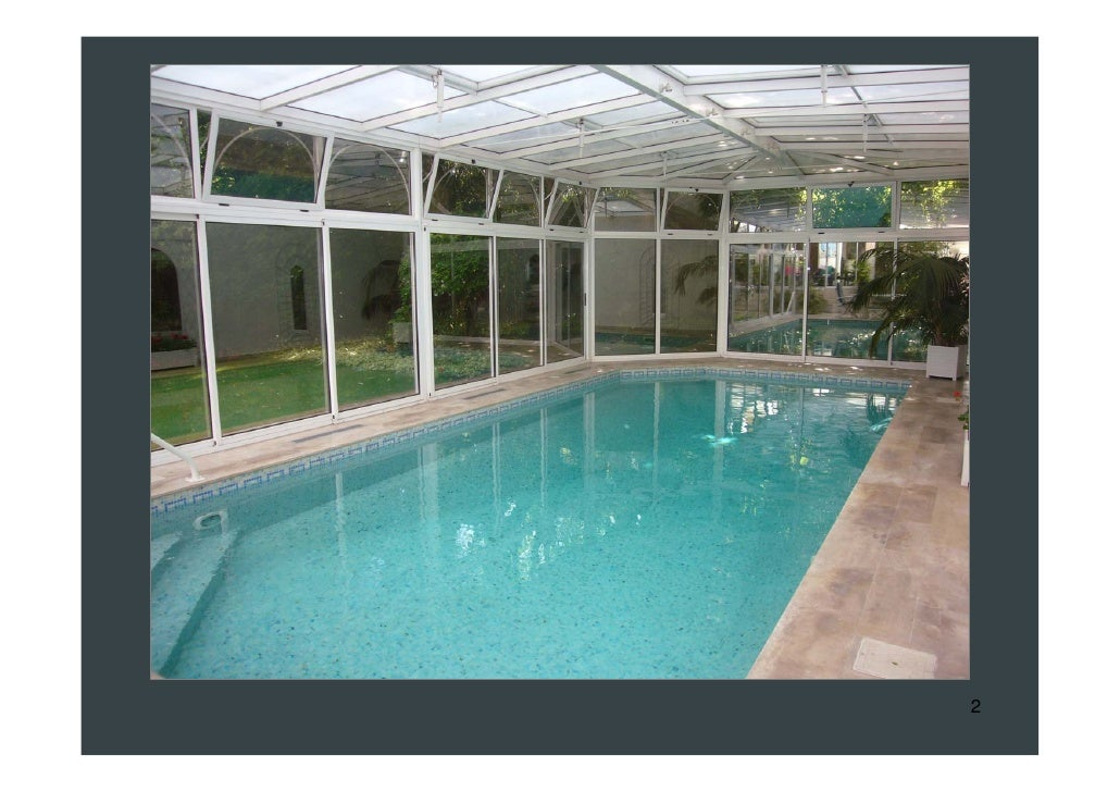 Paris house for sale indoor swimming pool garden bright for Houses with swimming pools inside for sale