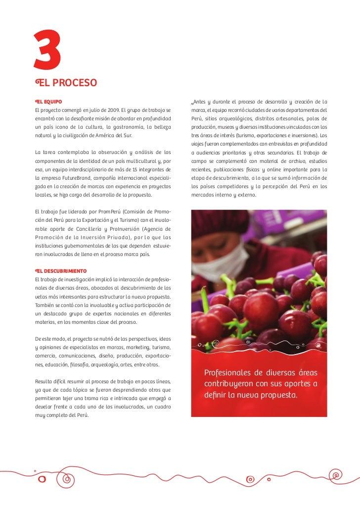 Dossier Marca Pais Peru - PromPeru Slide 3
