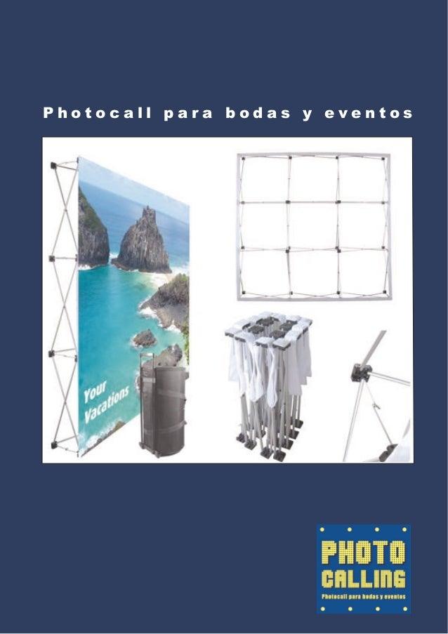 Photocall para bodas y eventos