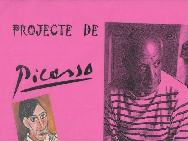 PER A SABER-NE MÉSBIOGRAFIA, OBRA, L'ARTISTA AL TALLER…http://www.xtec.cat/~mmoron/L%27ARTdelsegleXXal%27ESCOLA/Artistes/P...
