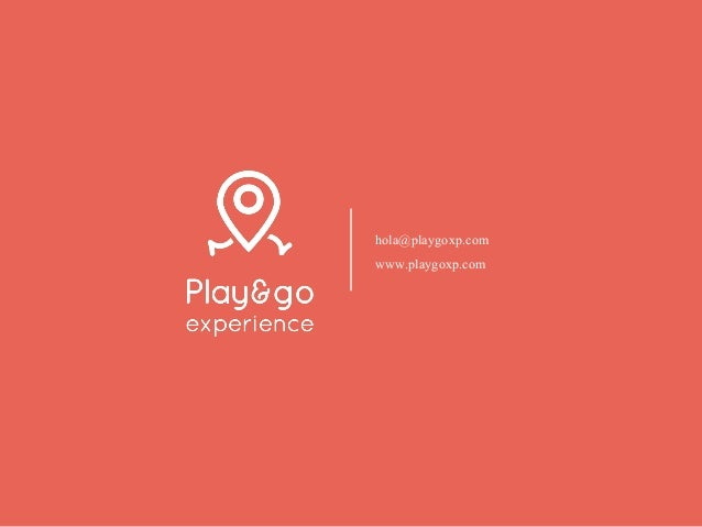 Dossier Play&go experience 2018
