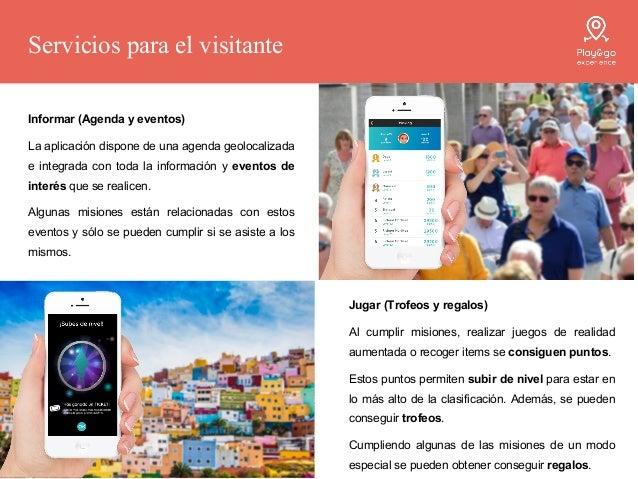 Promocionar (la viralidad) Play&go experience está diseñado para generar viralidad en RRSS y entre los propios visitantes....