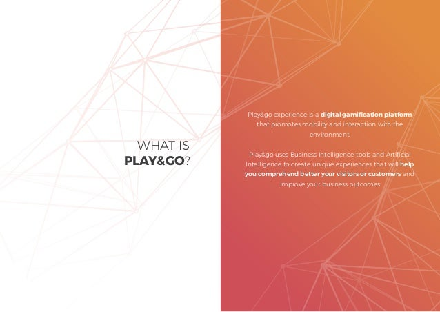 Dossier Play and go experience 2020 (english) Slide 2