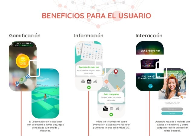 Datos de usuarios Datos de comportamiento Promoción de la marca A través de nuestra herramienta las organizaciones podrán ...
