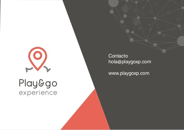 Nuevo dossier Play&go experience 2018