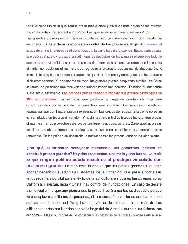 Dossier presas y sus impactos