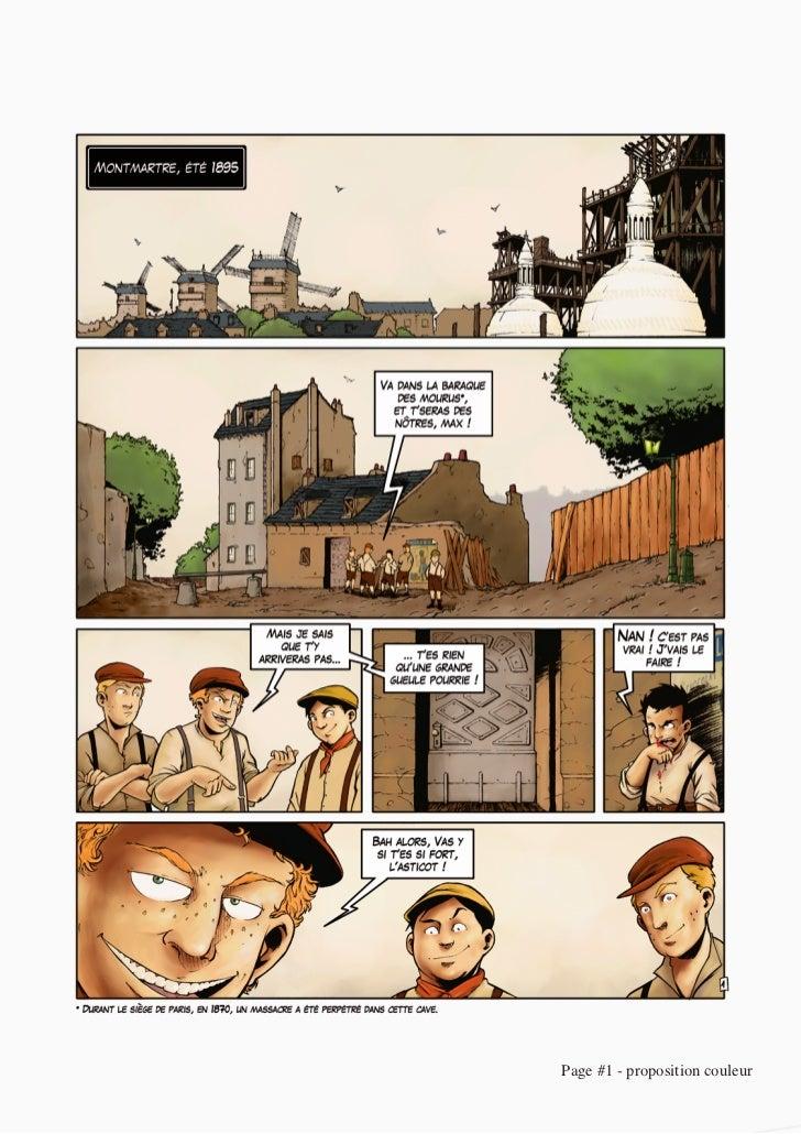 Page #1 - proposition couleur