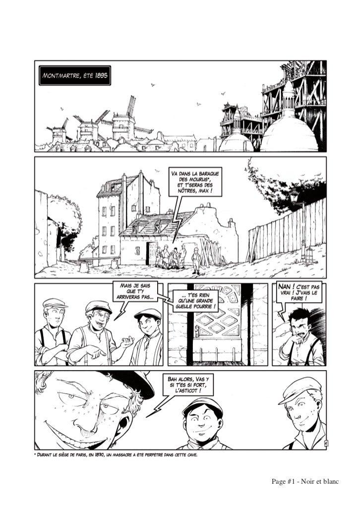 Page #1 - Noir et blanc