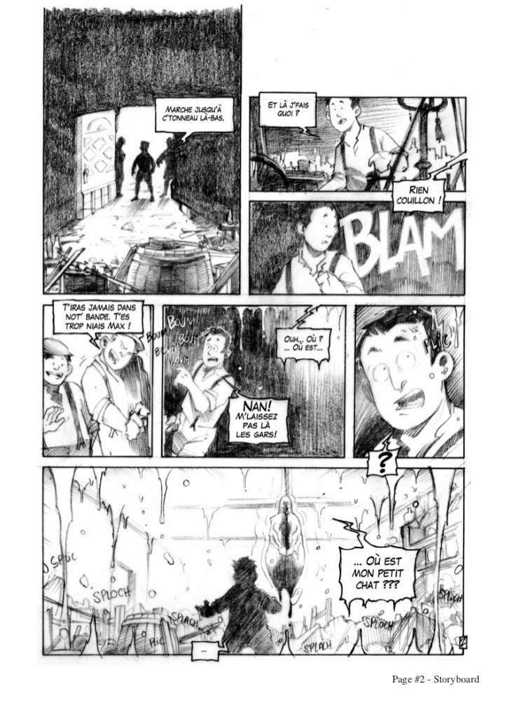 Page #2 - Storyboard