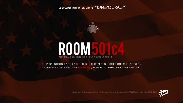 ROOM501c4 LE DOCUMENTAIRE INTERACTIF de Happy Fannie | Sandrine Girbal | 34 Rue du Faubourg Saint-Antoine, 75012 Paris | +...