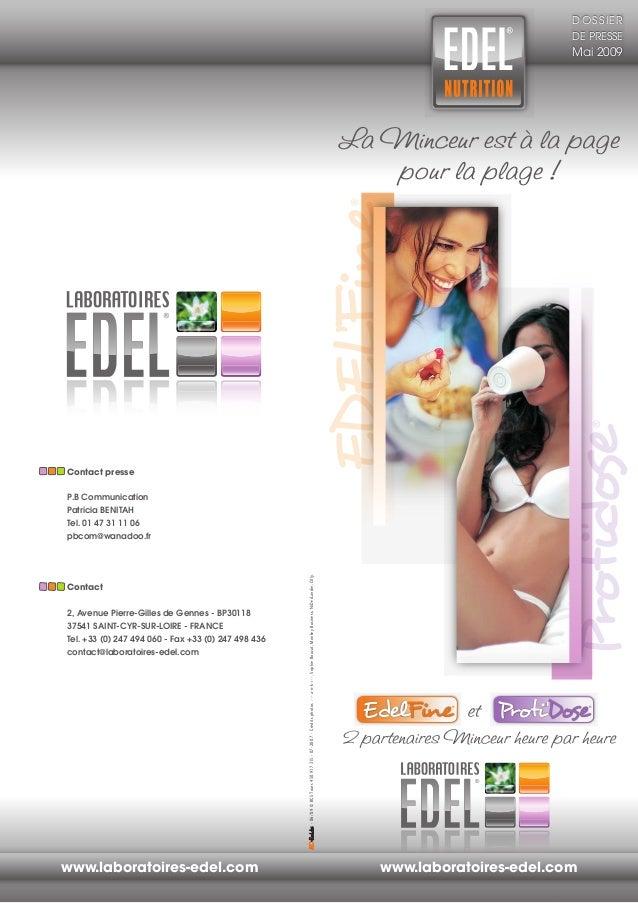 Contact presse P.B Communication Patricia BENITAH Tel. 01 47 31 11 06 pbcom@wanadoo.fr Contact 2, Avenue Pierre-Gilles de ...