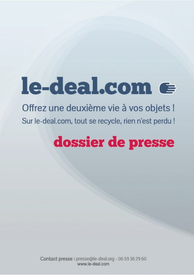 Dossier de presse 2014 de Le-Deal.com