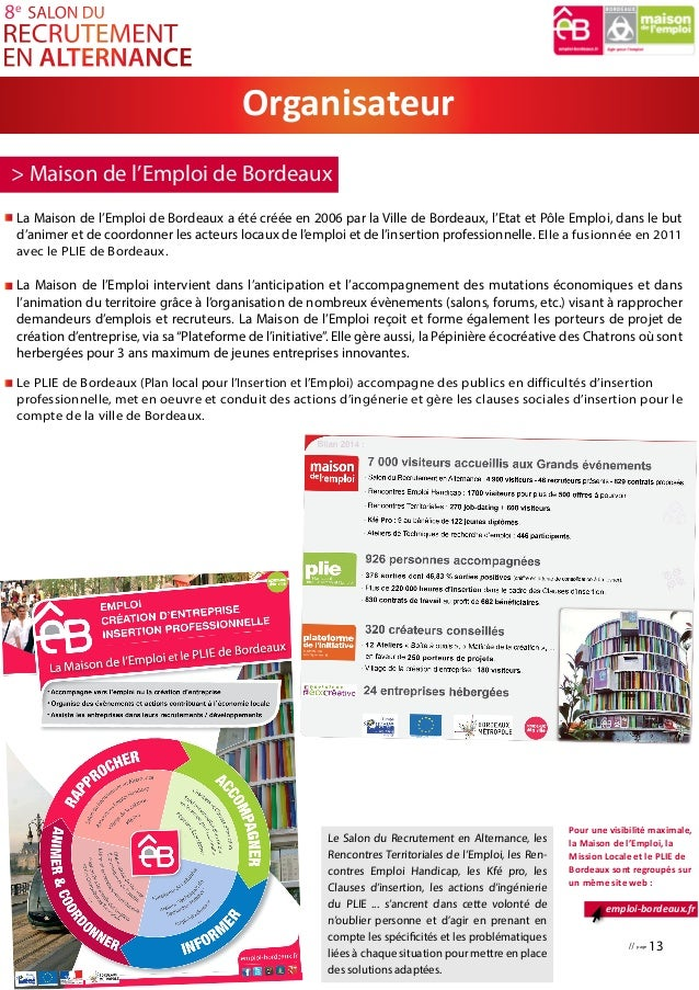 Maison de retraite qui recrute en alternance segu maison for Salon studyrama bordeaux