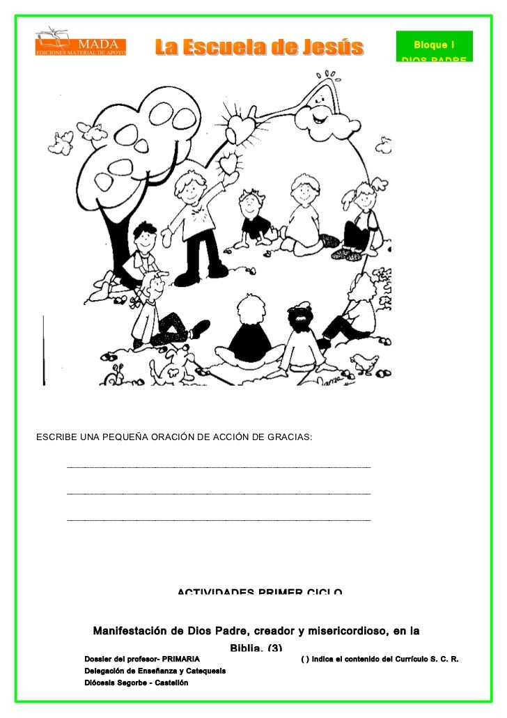Dossier primaria 2005, bloque 1