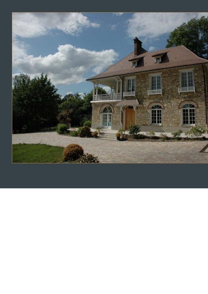 A vendre grande maison ancienne 15 kms paris nord for Ancienne maison close paris