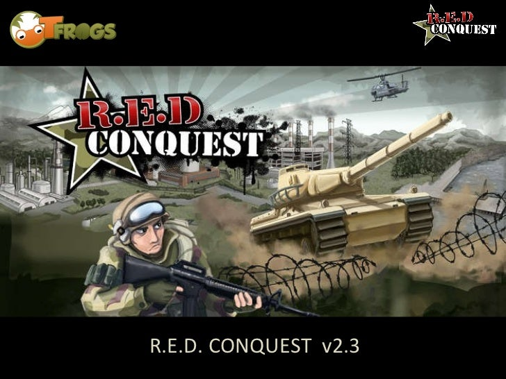 R.E.D. CONQUEST  v2.3