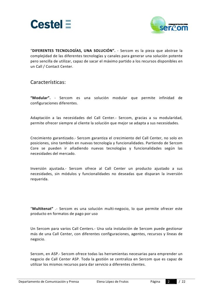Dossier Prensa Sercom Slide 2