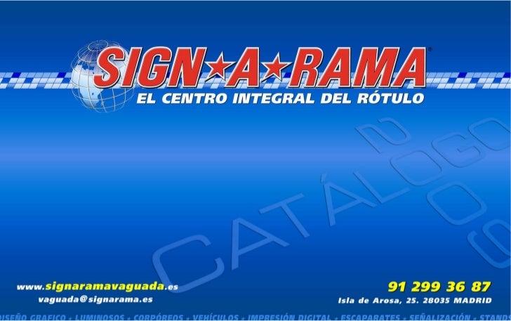 Dossier signarama Rotulos