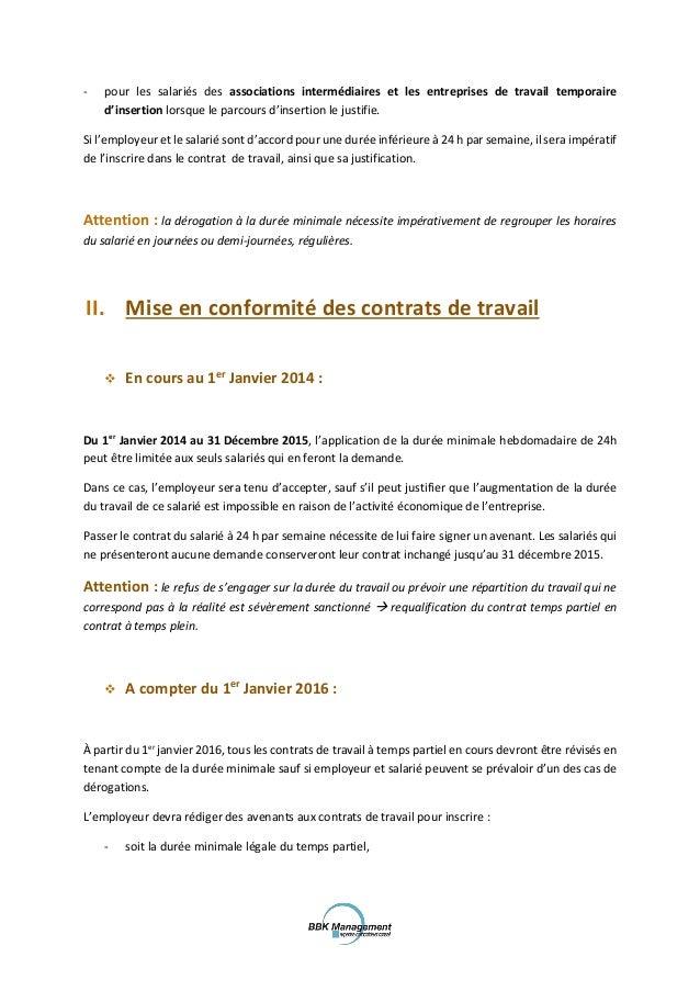 Modele Lettre Temps Partiel 80 Document Online