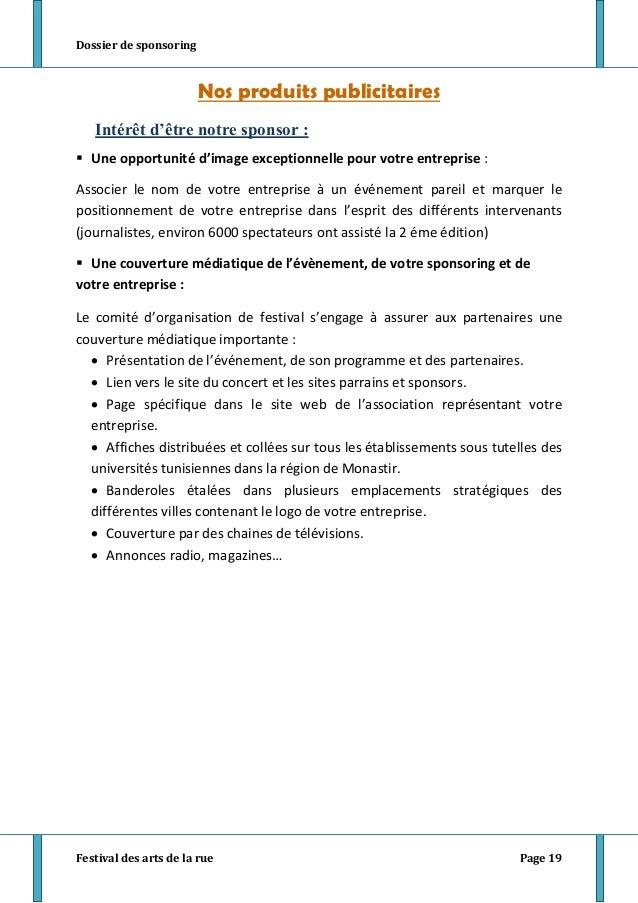 lettre de demande de sponsoring sportif individuel