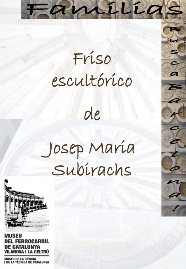 Friso escultórico de Josep Maria Subirachs