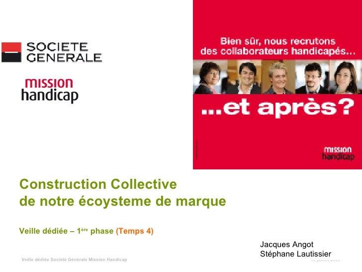 Construction Collective de notre écoysteme de marque Veille dédiée – 1ère phase (Temps 4)                                 ...